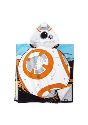 Unknown Star Wars BB-8 Hooded Poncho Towel