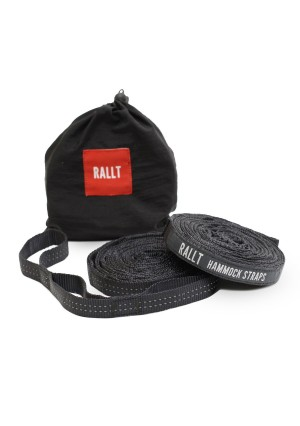 Rallt Ultralight Hammock Tree Straps (Set of 2) - Fast and Easy Setup, Super Strength, No Stretch, Fits