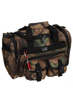 """NPUSA Mens 15"""" Inch Duffel Duffle Molle Tactical Shoulder Bag With KEYCHAIN FLASHLIGHT OR KEYCHAIN AND"""