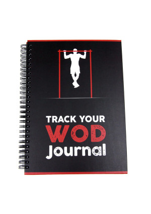TYW Track Your WOD Journal - The Ultimate CrossFit WOD Tracking Journal. 6x9 Hardcover