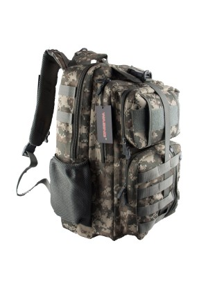 WASING Military Tactical Backpack Gear Assault Pack Camping Hiking Traveling Bag 40L