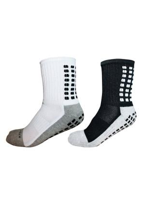 Apex Grip Socks, Non Slip Sport Socks, Traction Technology Inside and Outside of Socks, No More Blister