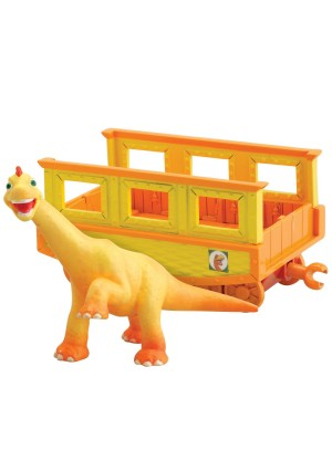 Learning Curve Dinosaur Train - Collectible Ned With Train Car