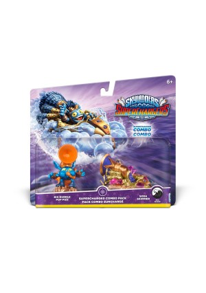 Activision Skylanders SuperChargers Dual Pack #3: Big Bubble Pop Fizz and Soda Skimmer