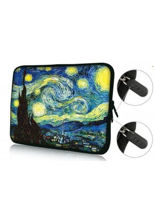 """Colorfulbags Universal Art 11.6 12 12.1 12.2 inches Laptop Neoprene Soft Bag Computer Sleeve Cover Case Pouch For 11.6"""" - 12.5"""" Universal Chromebook Ultrabook Notebook Netbook Computer Tablet PC"""