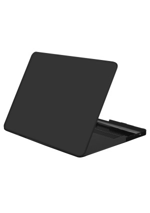 """Mosiso MacBook Pro 15"""" Case, Black Soft-Touch Plastic Hard Case Cover for MacBook Pro 15.4"""" (Mod"""