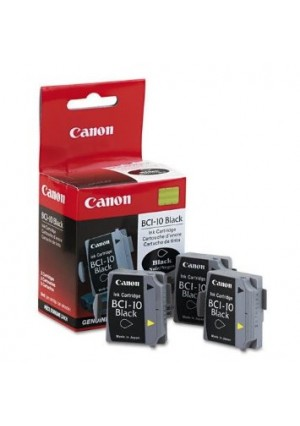 Canon BCI-10 Black Ink Cartridge 3 Pack