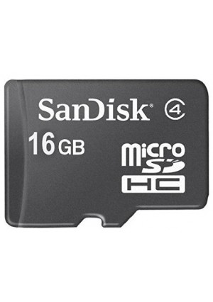SanDisk 16GB Mobile MicroSDHC Class 4 Flash Memory Card- SDSDQM-016G-B35N