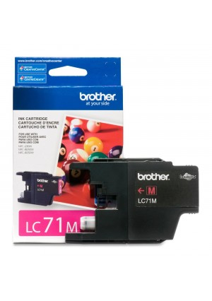 Brother Printer LC71M Standard Yield Magenta Ink