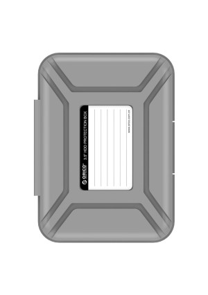 ORICO 3.5 Inch Hard Drive Protector 3.5 Inch HDD Protective Box / Storage Case-Gray