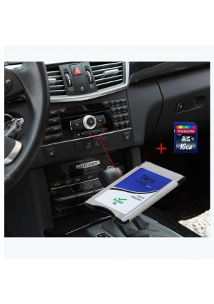 Primacy Card Adapter Converter for Mercedes Benz Pcmcia Command System Up2, 4, 8, 16, 32 Gb Sd Card for Mo