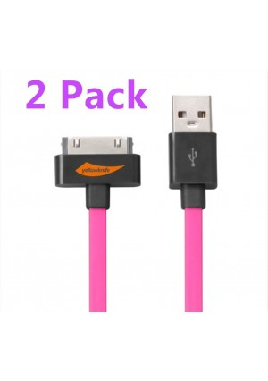 Yellowknife 2 PCS Apple MFI Certified 3.2Feet(1.M) Charging and Sync Cable for Iphone 4s Iphone 4 Iphone 3gs,i