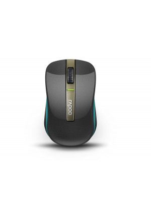 Arion Rapoo 6610 Bluetooth 3.0 and 2.4G Dual Mode Wireless Optical Mouse - Black