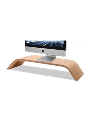 China Samdi Wooden Monitor Stand, Riser Stand, Shelf Stand for all iMac and other Computers LCD Monitors