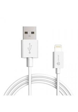 iClever BoostLink 10ft [Apple MFi Certified] Lightning to USB Cable with Compact Connector, White