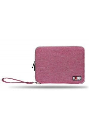 DDN BUBM Universal Cable Organizer Electronics Accessories Case Various USB, Phone, Charge, Cable organizer Travel Organizer - (XDouble-pink)