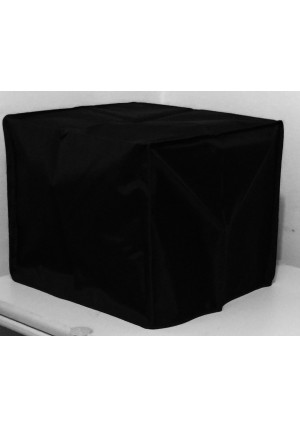 COMP-BIND EPSON WORKFORCE WF-3620 ALL-IN-ONE PRINTER BLACK NYLON DUST COVER DOUBLE STITCHED AND WATER RESIST