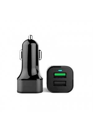 LTNLab 30W Quick Charge 3.0 USB and 1 port 2.4A USB Car Power Charger for LG G5, HTC 10, A9, Huawei P9 Pl