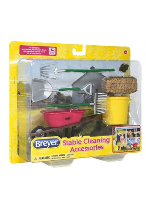 Breyer Classics Stable Cleaning Accessories Set