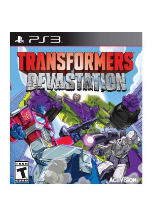 Transformers Devastation for Sony PS3
