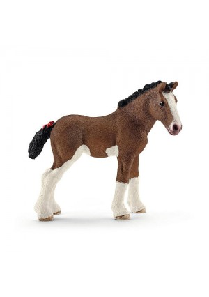 Schleich Clydesdale Foal Figurine