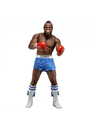 NECA Rocky Series 1 40th Anniversary 7 inch Scale Action Figure - Clubber Lang with Blue Trunks