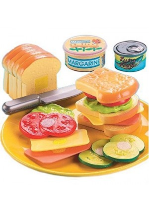 Small World Toys Living - Country Club Sandwich 21 Pc. Playset