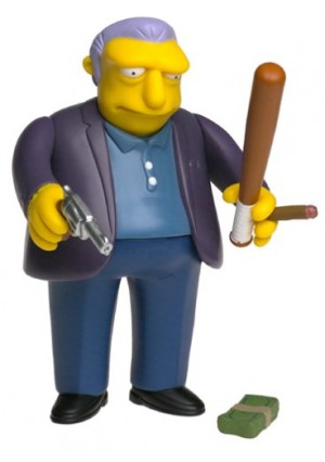 The Simpsons Celebrity Series 1 Joe Montegna as Fat Tony