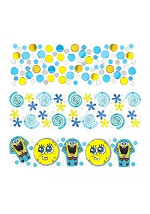Amscan Boys Silly SpongeBob Party Confetti Mix Decoration (Pack of 1), Multicolor, 12 oz