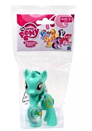 My Little Pony Friendship is Magic Single Figure Lyra Heartstrings, 3.5 Inches