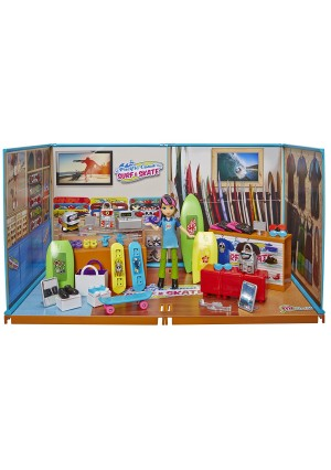 miWorld 84854 Deluxe Environment Surf/Skate Playset