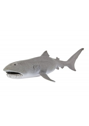 Safari Ltd Wild Safari Sealife – Megamouth Shark – Rare Filter-Feeder – Realistic Hand Painted Toy Figurine Model – Quality Construction from Safe and BPA Free Materials – For Ages 3 and Up