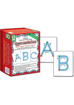 Carson-Dellosa Carson Dellosa Key Education Textured Touch and Trace: Uppercase Manipulative (846011)