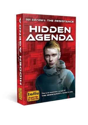 Indie Boards & Cards Resistance Hidden Agenda Card Game