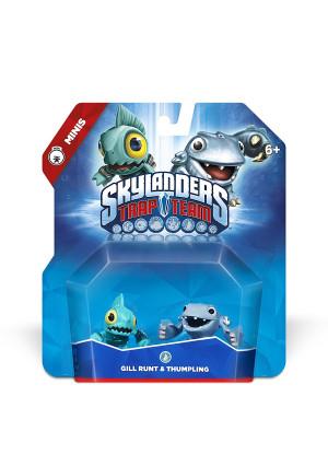 Activision Skylanders Trap Team: Gill Runt and Thumpling - Mini Character 2 Pack