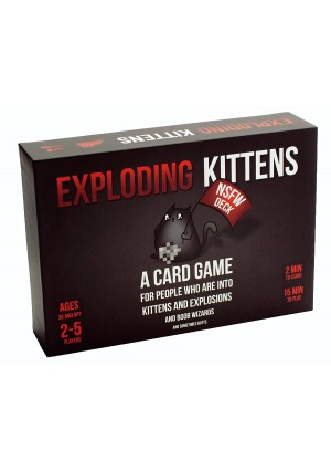 Exploding Kittens LLC Exploding Kittens: NSFW Edition (Explicit Content - ADULTS ONLY!)