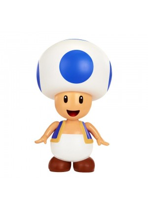 World of Nintendo Super Mario 4 inch Action Figure - Toad with Coin Accessory