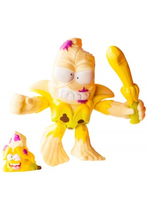 The Grossery Gang Series 3 Putrid Power Action Figure - Squished Banana