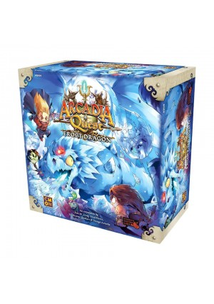 Cool Mini or Not Arcadia Quest Frost Dragon Board Game