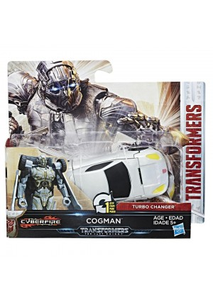 Transformers: The Last Knight Turbo Changer Action Figure - Cyberfire Cogman
