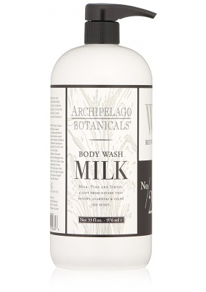 Archipelago Milk Body Wash,33 Fl Oz