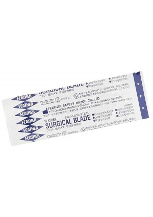 GF Health 2976#15 GF Health Sterile Surgical Blade, #15 (Pack of 100)