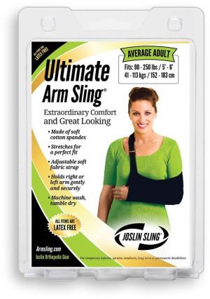Ultimate Arm Sling - Average Adult, black