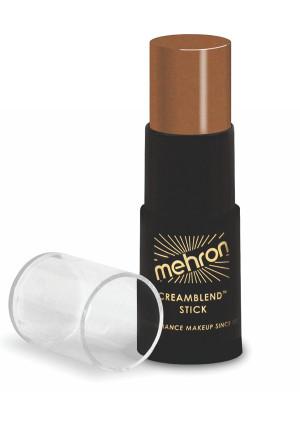 Mehron Makeup CreamBlend Stick, DARK OLIVE - .75oz