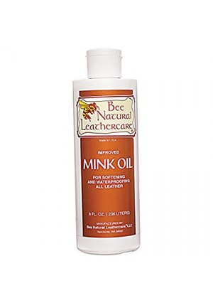 Bee Natural Mink Oil, Clear, 8 oz