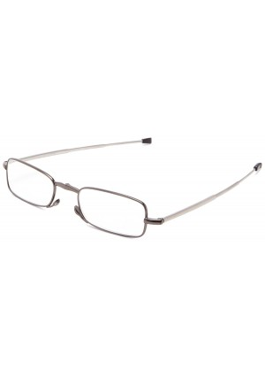 Foster Grant Men's Gideon Folding Rectangular Reading Glasses