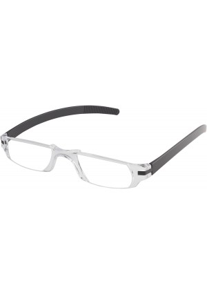 Fisherman Eyewear Slim Vision Rimless Reading Glasses with Temples (+3.00)