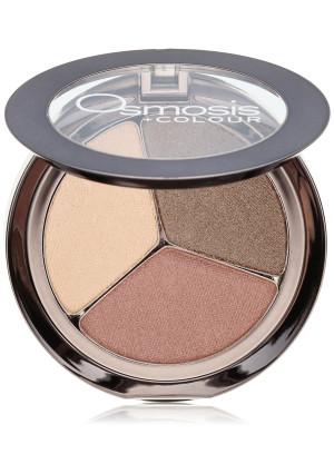 Osmosis Skincare Eye Shadow Trio, Spice Berry