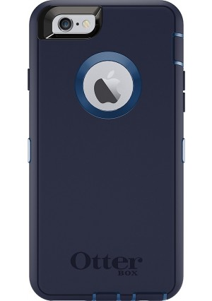 OtterBox DEFENDER iPhone 6/6s Case - Retail Packaging - INDIGO HARBOR (ROYAL BLUE/ADMIRAL BLUE)