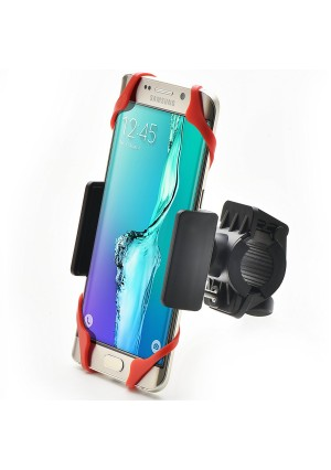"""Bestrix Bike and Motorcycle Cell Phone Bike Handlebar Mount Holder for Mountain and Road Bicycle iPhone 6 6S 7 Plus, Samsung Galaxy S5 S6 S7 S8 Edge / Plus Note 2 3 4 5 LG G3 G4 G5 G6 all smartphones 5.7"""""""
